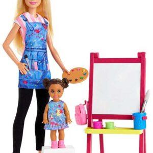 Barbie Docka Konstlärare GJM29