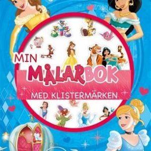 Disney Prinsessor Min målarbok med klistermärken