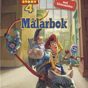 Disney Toy Story 4 Målarbok