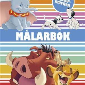 Disney klassiker Målarbok med klistermärken
