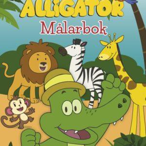 Kärnan Arne Alligator Målarbok