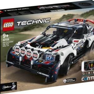 LEGO Technic 42109 Fjärrstyrd Rallybil från Top Gear
