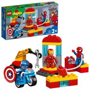 LEGO DUPLO Super Heroes 10921, Superhjältarnas labb