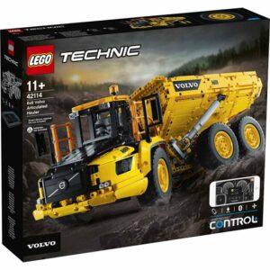 LEGO Technic 42114, Volvo 6x6 ledad lastbil