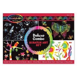 Melissa & Doug Scratch Magic, Deluxe Kit 5 - 12 år