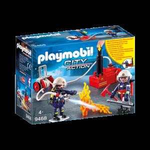 Playmobil City Action 9468, Brandmän med vattenpump