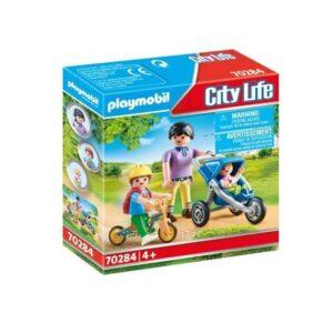 Playmobil City Life 70284, Mamma med barn
