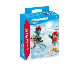 Playmobil Special Plus 70250, Barn med släde
