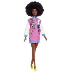 Barbie Fashionistas Docka Letterman Jacket