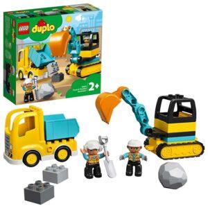 LEGO Duplo 10931, Lastbil och grävmaskin