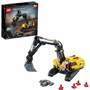 LEGO Technic 42121, Kraftfull grävmaskin