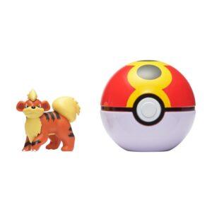 Pokemon Clip 'N Go (Growlithe + Repeat ball)