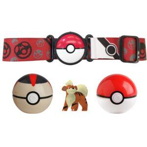 Pokémon Clip N Go set (Timer Ball, Poke Ball & Growlithe)