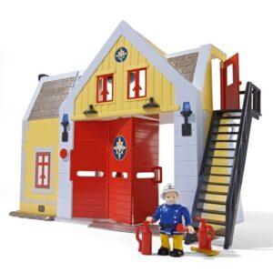 Simba Fireman Sam, Brandstation med figur