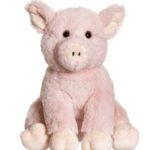 Teddykompaniet Sittande Gris 20 cm