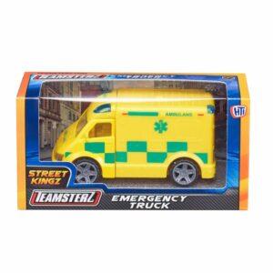 Ambulans i metall