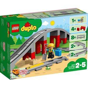 LEGO DUPLO 10872 LEGO® DUPLO® Tågbro och Spår One Size