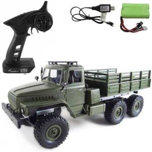 Radiostyrd Militärlastbil Ural 6WD Amewi