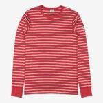 Randig tröja vuxen röd