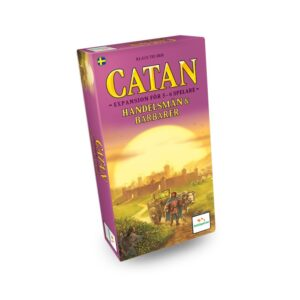 Settlers of Catan Handelsmän och barbarer (Exp. 5-6 spelare) (Sv)