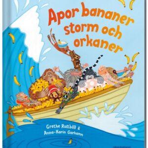 Apor bananer storm och orkaner - En räknebok om tiokompisarna