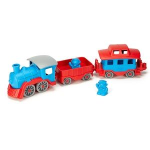 Green Toys Tåg Set Blå/Röd 24 mån - 4 år