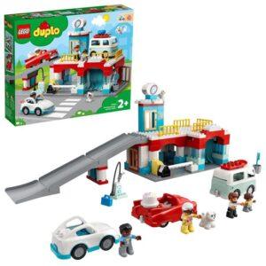 LEGO DUPLO Town 10948, Parkeringshus och biltvätt