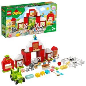 LEGO DUPLO Town 10952 Lada, traktor och bondgårdsdjur att sköta om