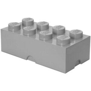 LEGO Förvaringslåda 8 (Grå)