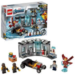 LEGO Super Heroes 76167 Iron Mans vapenförråd