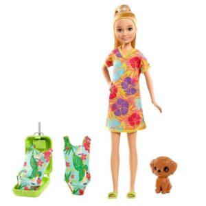 Barbie Stacie Skipper och Chelsea The Lost Birthday docka med tillbehör