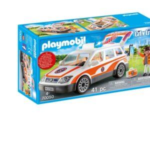 Playmobil City Life - Utryckningsfordon med siren