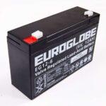 Rull Batteri 6 V 12 Ah