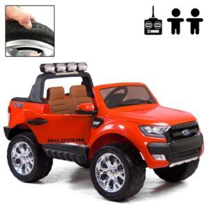 Rull Elbil - Ford Ranger Fyrhjulsdrift - Röd Deluxe