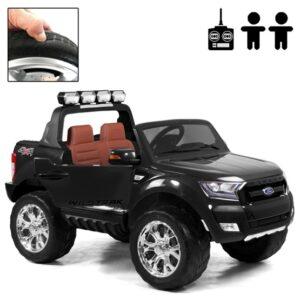Rull Elbil - Ford Ranger Fyrhjulsdrift - Svart Deluxe
