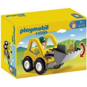 Playmobil 1.2.3 - Hjullastare 6775