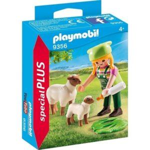 Playmobil 9356 - Bondflicka med får