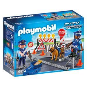 Playmobil City Action - Polisvägspärr 6924