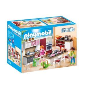 Playmobil City Life Stort familjekök 9269
