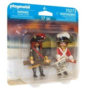 Playmobil Pirates Piratkapten och Rödrock 70273