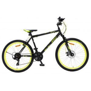 AMIGO Amigo - Mountainbikes - Next Level 26 Tum 21 Växlar Svart/Gul