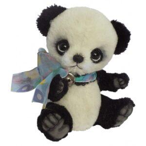 Clemens - Mjukisdjur Toy Panda Dahay Junior 13 Cm Plush Svart/Vit