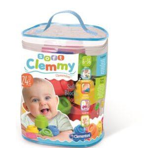 Clementoni Baby Soft clemmy Mjuka byggklossar (24 st)