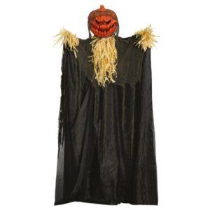 Fiestas Guirca - Decoration Doll Pumpkin 170 Cm Abs Orange/Svart