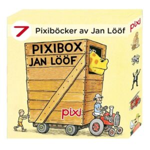 Jan Lööf Pixibox med 7 st böcker