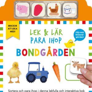 Lek & lär para ihop Bondgården