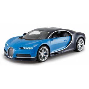 Rastar - Rc Bugatti Chiron Boys 27 Mhz 1:14 Blå