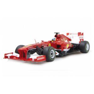 Rastar - Rc F1 Racing Car Ferrari Boys 27 Mhz 1:12 Röd