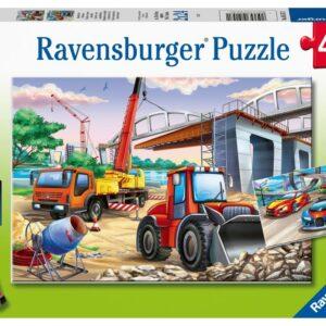 Ravensburger Pussel Arbetsfordon och bilar (2x24-bitar)