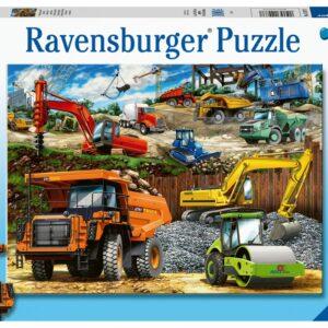 Ravensburger Pussel XXL Arbetsfordon (100-bitar)